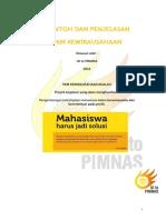 Contoh Dan Penjelasan PKM Kewirausahaan (Awal)