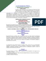 ley de contrataciones publicas 2008 GAHU.doc
