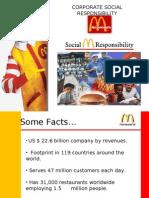 CSR McDonald's