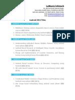 ieee projects in pondicherry | LeMeniz Infotech