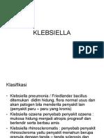 KLEBSIELLA