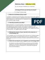 peer coaching reflection sheet 3 cg