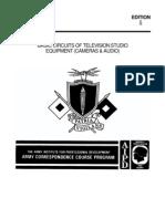 Army Basic Circuits of TV Studio Equipment