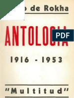 Pablo de Rokha - Antología 1916-1953