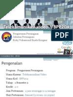 Telekomunikasi Video