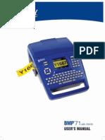 M_BMP71 Manual