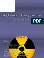 Radiation in Everyday Life