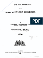1896 report on the proceedings of the pamir boundary commission by gerard & holdich s