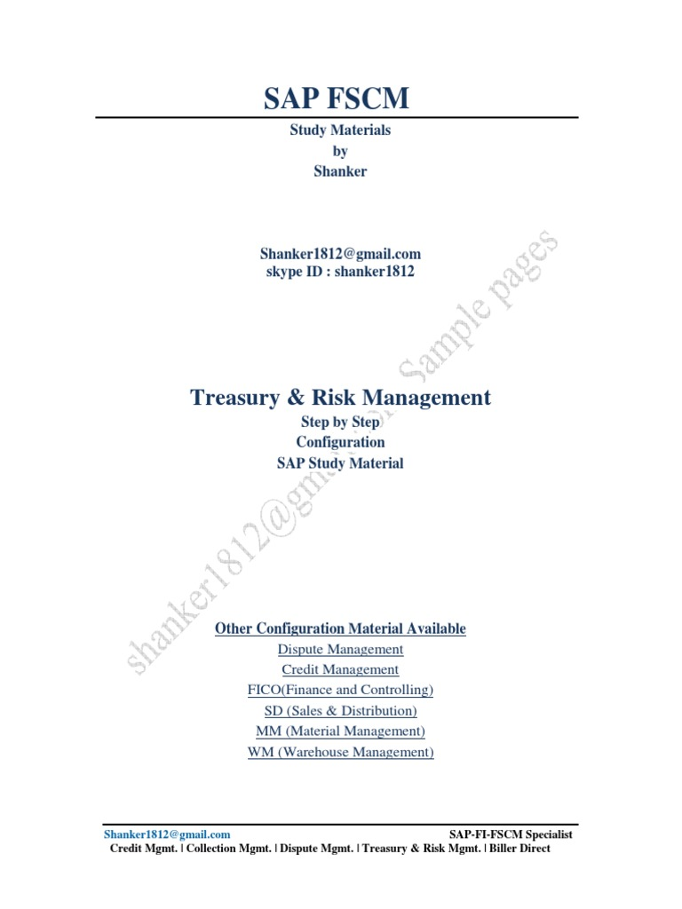 sap trm configuration guide financial transaction derivative rh pt scribd com sap fscm credit management configuration guide fscm credit management configuration guide pdf