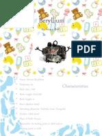 beryllium 4