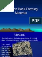 2 51 rock forming minerals