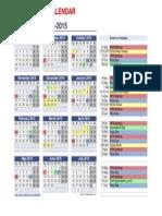 vips 2014-2015 calendar