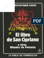 El Libro de San Cipriano y otros Rituales de Potencia