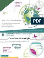 écoorigin dans l'ère de l'économie circulaire (Congrès Développement Durable des CCI 2014)