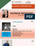PREMIUL NOBEL PENTRU LITERATURĂ 2014 :  PATRICK MODIANO