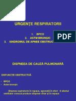 URGENTE Respiratorii