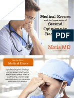 Medical Errors and the Importance of Second Opinions in Radiology