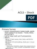ACLS Algorithms Slide