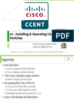 ICND I 100 101 07 Installing Operating Cisco LAN Switches Pptx