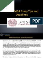 duke fuqua mba sample essays tips and deadlines master of  cornell mba essays tips and deadline 2014 2015