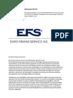 Die Führungskräfteausbildung der EFS AG