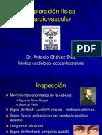 Exploración física  cardiovascular.ppt