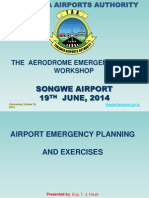 Presentation on Airport Emergency