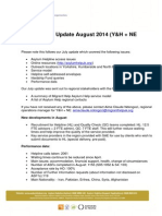 Asylum Help Update August 2014