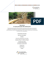 Instructions for Laying Steel Pipes 032014