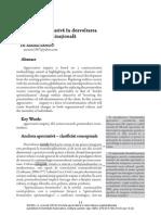 Ancheta Apreciativa in Dezvoltarea Organizationala Antonio SANDU
