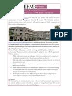 IIHMR University-MBA PHARMACEUTICAL MANAGEMENT