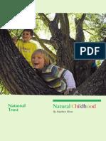 National Trust, Natural Childhood