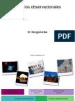 Estudios observacionales en epidemiologia