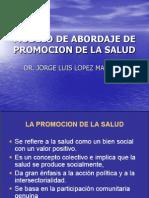 MODELO DE ABORDAJE DE PROMOCION DE LA SALUD II.ppt