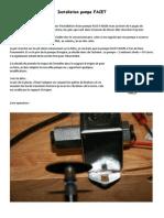 Installation pompe FACET.docx