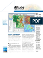 Maptitude 2013 Mapping Software Brochure