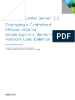 VMware VCenter Server 5.5 LB SSO Technical Reference