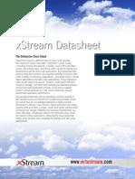 Datasheet XStream Technical Data Sheet 12-6-12 Copy