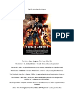 Captain American Archetypes