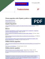 Traducciones 27 (1999)