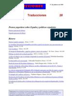 Traducciones 28 (1999)