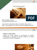 Direito Empresarial aula 01.pdf
