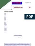 Traducciones 30 (1999)