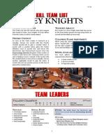 Kill Team List - Grey Knights v3.2b