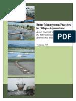 Tilapia Better Management Practices