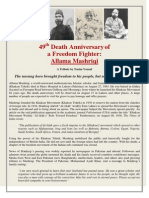 49th Death Anniversary of a Freedom Fighter