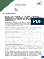 Senac Finanças Corporativas Trabalho(1)