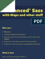 Advanced Sass