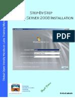 Step-By-Step Windows Server 2008 Installation v1.0