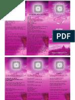 Prana Voilet Healing Hindi- Spiritual Affirmation 3-Fold